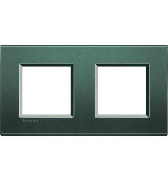 LNA4802M2PK Cover plate 2+2 M Park Living Light Bticino