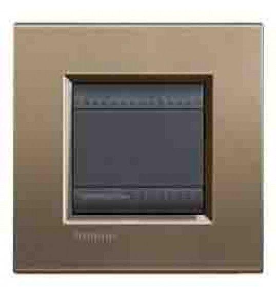 LNA4802SQ Cover plate 2 M Metal Living Light Bticnio