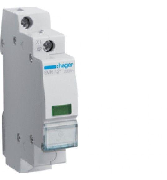 SVN121 Sinalizador LED verde 230V AC