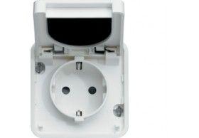 WNA160B cubyko - Socket Schuko, white
