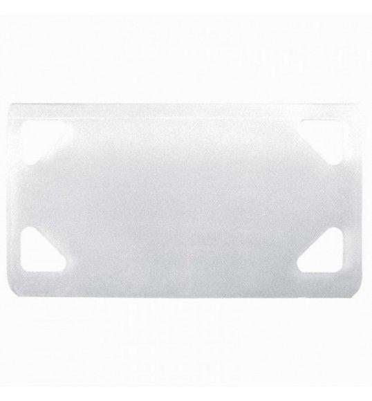 032085 Placa de identificação para abraçadeira Colring 4,6 mm incolor