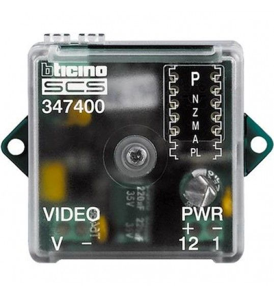 347400 Interface coaxial - 2 fios