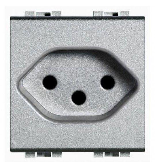 NT4164/13 2P+E (Swiss) 10A 2MD TECH Living Light