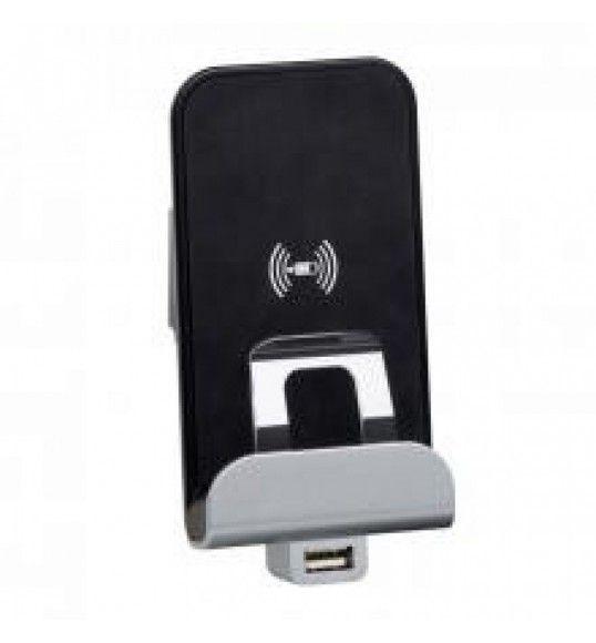 077598 Carregador USB + indução Mosaic