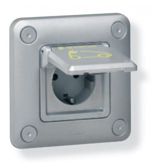 077856 IP 55 - IK 10 flush-mounting - metal socket Green Up