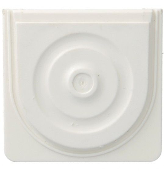 WNA691B cubyko - Inlet for conduit/cable, white