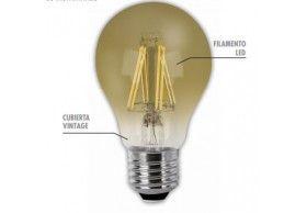 23592 Lâmpada LED filamento vintage A60 E27 6W 2200K