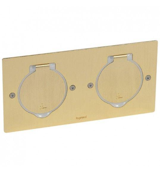 089712 Base rectangular 2 X 2 Modulos Bronze