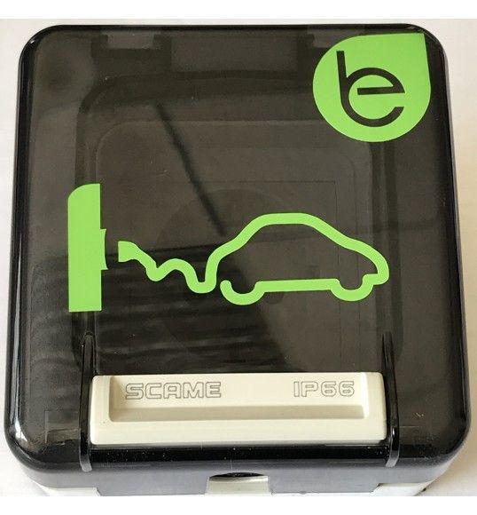 EV.PROTECTA SCHUKO socket electric car 2P+T